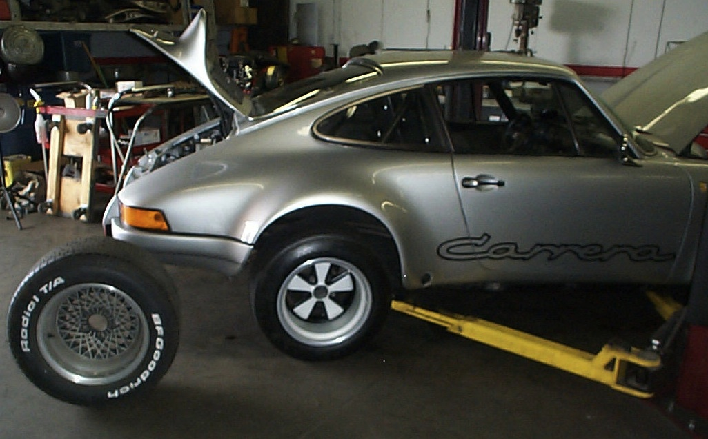 73 911S RS Project Car